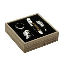 Legnoart Memorabile Wine Connoisseur 4-Pc Set