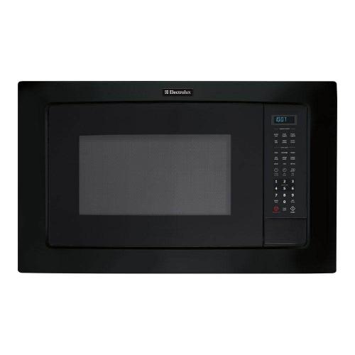 Electrolux - 2.0 cu. ft. Microwave in Black, Built-In Capable with Sensor Cooking