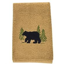Black Bear Finger Tip Towel