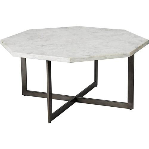 Bassett Anderson Cocktail Table w/ Marble Top