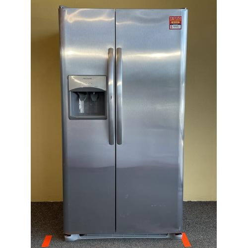 Treviño Appliance - Frigisaire Stainless Steel Side by Side Refrigerator