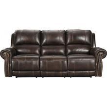 Buncrana Chocolate Power Leather Sofa