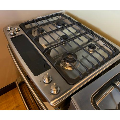 Electrolux EW30DS75KS     30'' Dual-Fuel Built-In Range with Wave-Touch® Controls