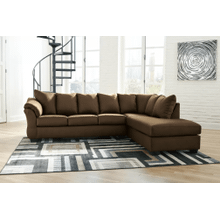 Darcy - Cafe 2-Piece Sectional with Right Facing Chaise