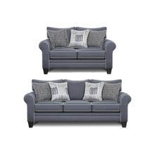 Fusion 2 Piece Set:  Sofa and Loveseat