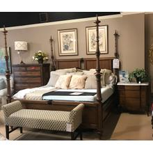 King bed with two nightstands