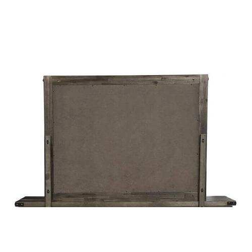 New Classic Furniture - Galleon Mirror - Weathered Walnut