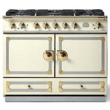 Ivory Cornufe 110 with Polished Brass Accents
