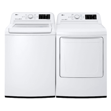 LG Top Load Laundry Pair Package