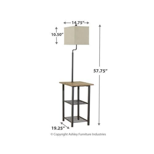 Shianne Metal Tray Lamp
