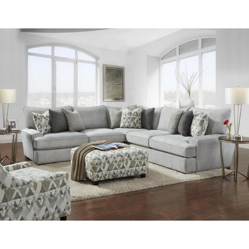 Designer's Choice - Alton Silver Sectional