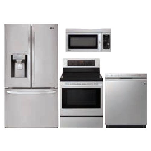 LG 4-Piece Stainless Steel Kitchen Suite