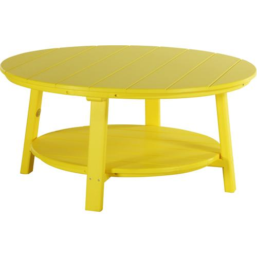 Deluxe Conversation Table Yellow