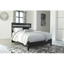 Starberry- Black- Queen Panel Bed