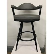 """Justin"" Swivel Bar Stool"