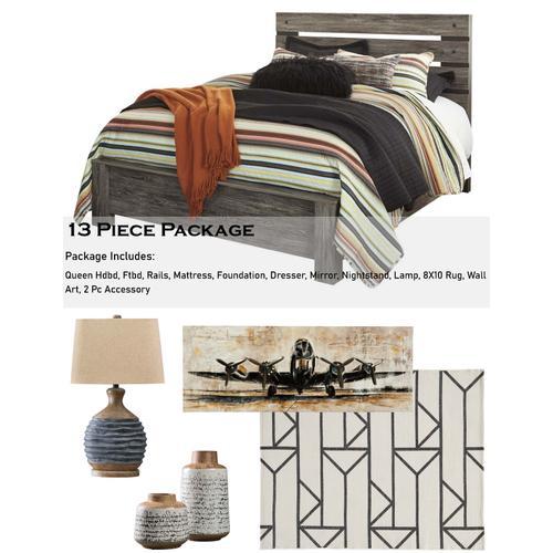 Cazenfeld 13 Piece Bedroom Package