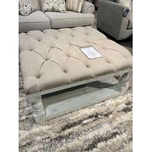 See Details - Upholstered Cocktail Ottoman