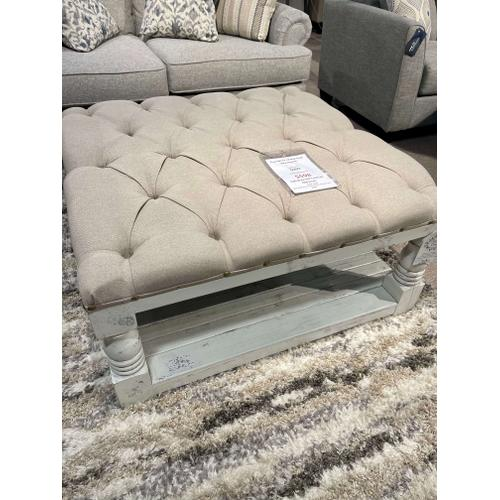 Upholstered Cocktail Ottoman