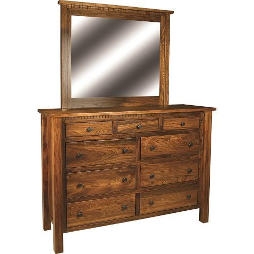 Amish Furniture - Lindholt High Dresser
