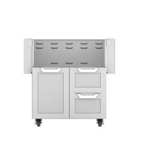 """30"""" Hestan Outdoor Tower Cart with Door/Drawer Combo"""