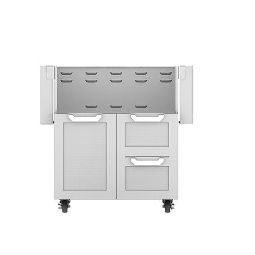 """Hestan - 30"""" Hestan Outdoor Tower Cart with Door/Drawer Combo"""