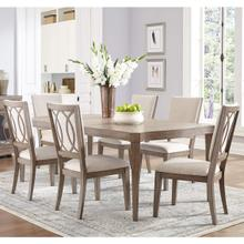 Venue 7-Piece Dining Set with Upholstered Chairs