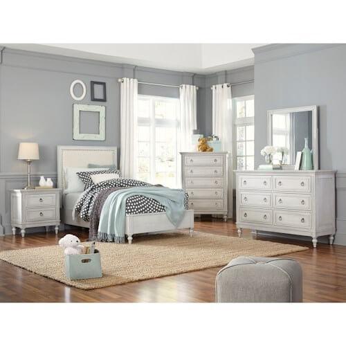 Sarah Twin Panel Bed