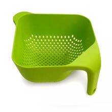 Square Colander Medium Green