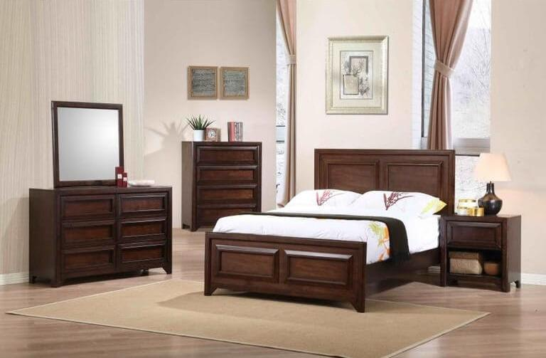 Greenough 4Pc Full Bed Set
