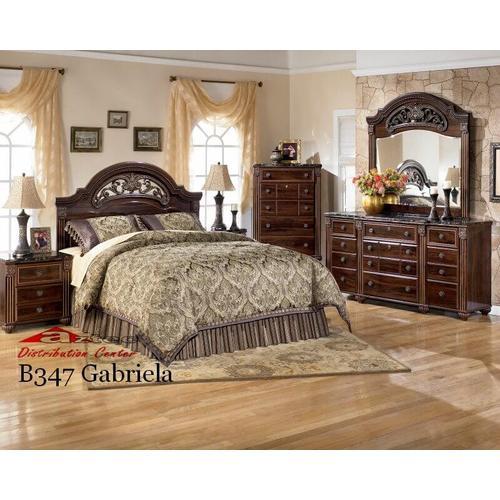 Ashley Furniture - Ashley B347 Gabriela Bedroom set Houston Texas USA Aztec Furniture