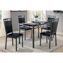 View Product - 5-Piece Pack Dinette Set, Faux Marble Top