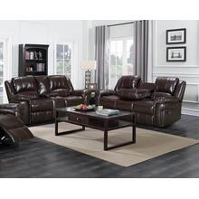 Monrose - Reclining Sofa & Reclining Love - Brown