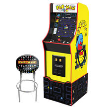 View Product - Bandai Namco Entertainment Legacy Edition Arcade Machine - PACMAN - with Stool