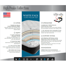 Whiteface Luxury Ultra Pillow Top