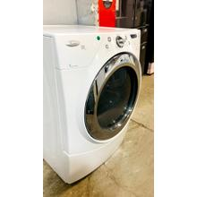 See Details - USED- Duet® High Efficiency Electric Dryer with Quick Refresh Steam Cycle FLDRYE27W-U  SERIAL #121