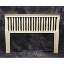 Maine Made Mission Headboard King 81W X 48H X 2D Pine Unfinished