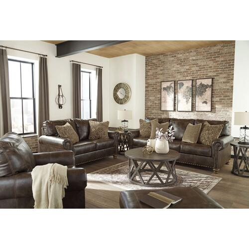 Ashley Furniture - Nicorvo Coffee Loveseat
