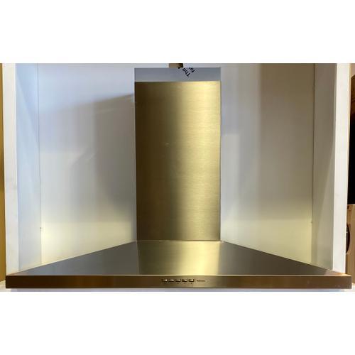 """Falmec FPVUX36W6SS  VulcanoXL Wall 36"""" (90cm) 600 CFM Hood"""