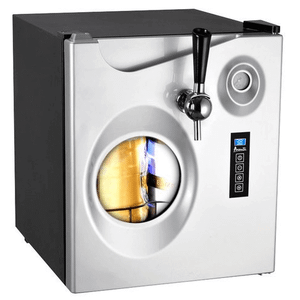 Avanti Mini Kegerator - Avanti - Portable Party Pub 1.7 Cu. Ft. Beer Dispenser - Black/Platinum
