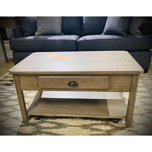 Null Furniture Inc - Oak Lift Top Cocktail in Cathedral Gray          (2114-00,52857)