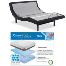 Leggett & Platt S-Cape HF w/ Choice of Boyd Sleep Cool Gel Memory Foam Mattress