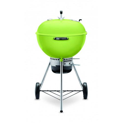"""Gallery - 22"""" Master Touch Charcoal Grill - Spring Green"""