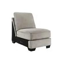 See Details - ASHLEY PEWTER ARMLESS CHAIR