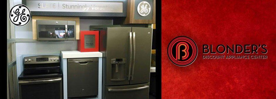 GE at Blonders Appliance