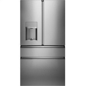 "Cafe Appliances36"" Smart 4-Door French Door Refrigerator w/WiFi, TwinChill, Convertible Drawer"