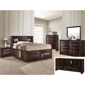 Crown Mark B4275 Emily Storage Queen Bedroom