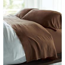 RESORT BAMBOO BED SHEETS - ALMOND TRUFFLE