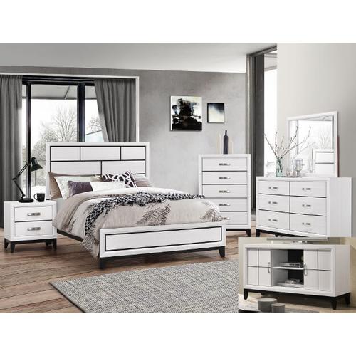 Crown Mark B4620 Akerson Grey Queen Bedroom
