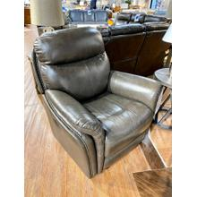 Triumph Charcoal Leather Recliner