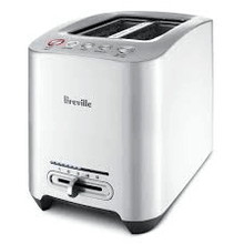 2 Slice Smart Toaster Die-Cast